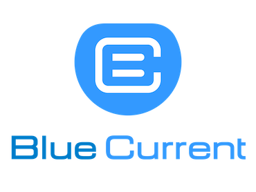 Charge card logo of Blue Current