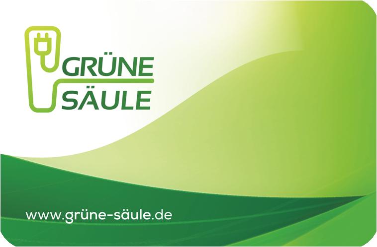Charge card logo of Grüne Säule