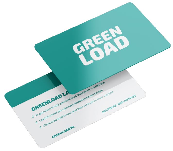 Charge card logo of Greenload