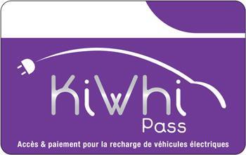 Charge card logo of Kiwhi
