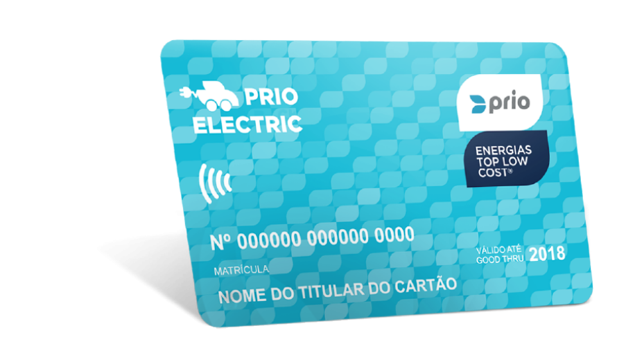 Charge card logo of Prio Electric