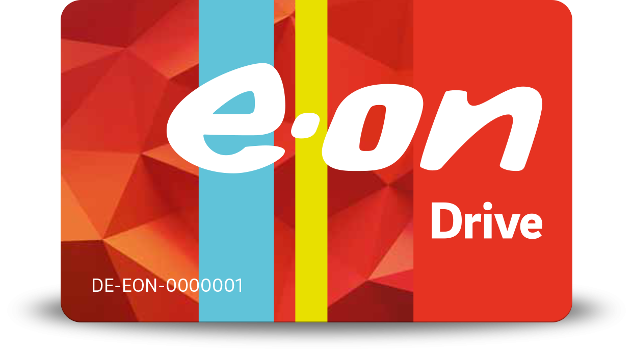 Charge card logo of EON Drive