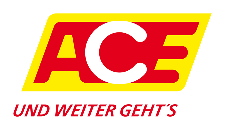 Charge card logo of ACE