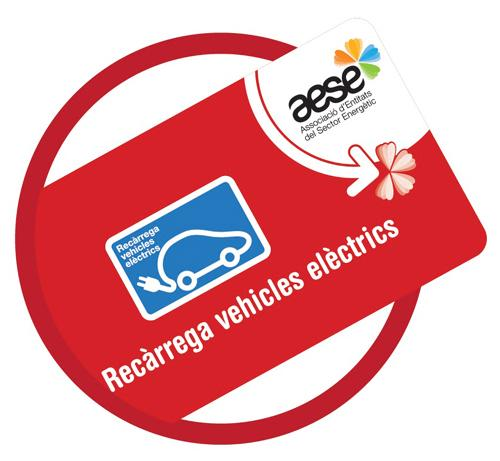 Charge card logo of AESE