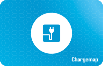 Charge card logo of Chargemap pass