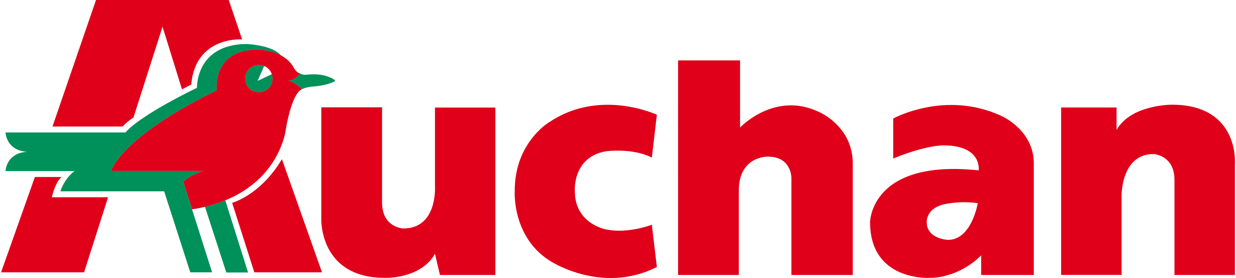 Charge card logo of Auchan