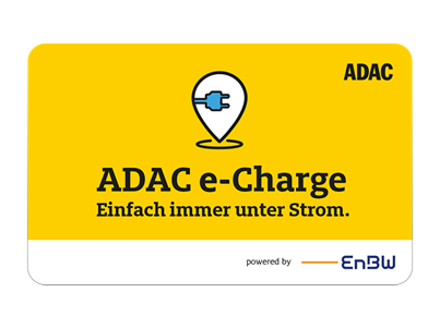Charge card logo of ADAC e-Charge