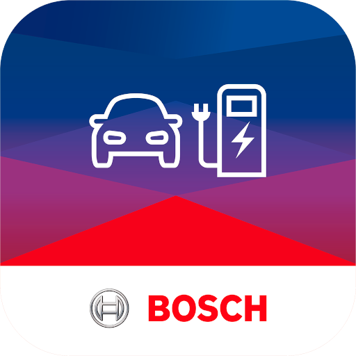 Charge card logo of Bosch Charge My EV