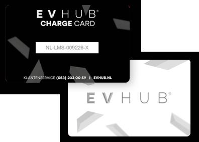 Charge card logo of EV Hub