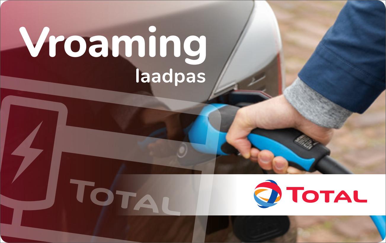 Charge card logo of Total Vroaming Energie & Onderweg