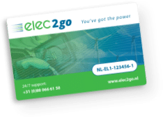 Charge card logo of Elec2go