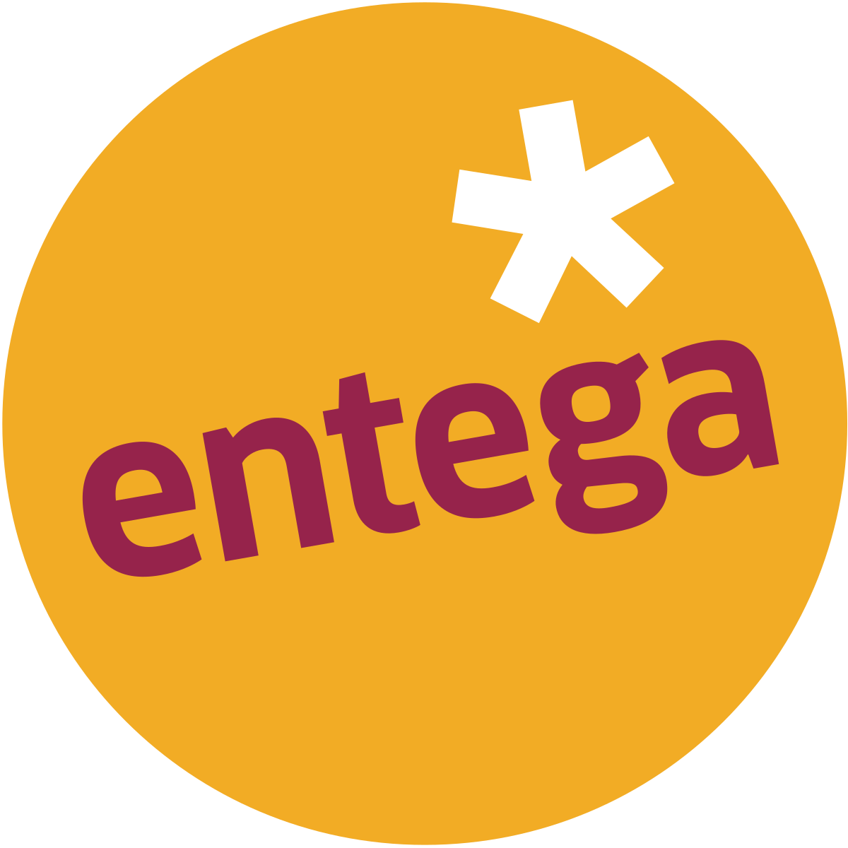 Charge card logo of Entega