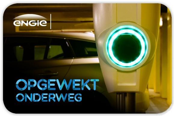 Charge card logo of Engie Onderweg