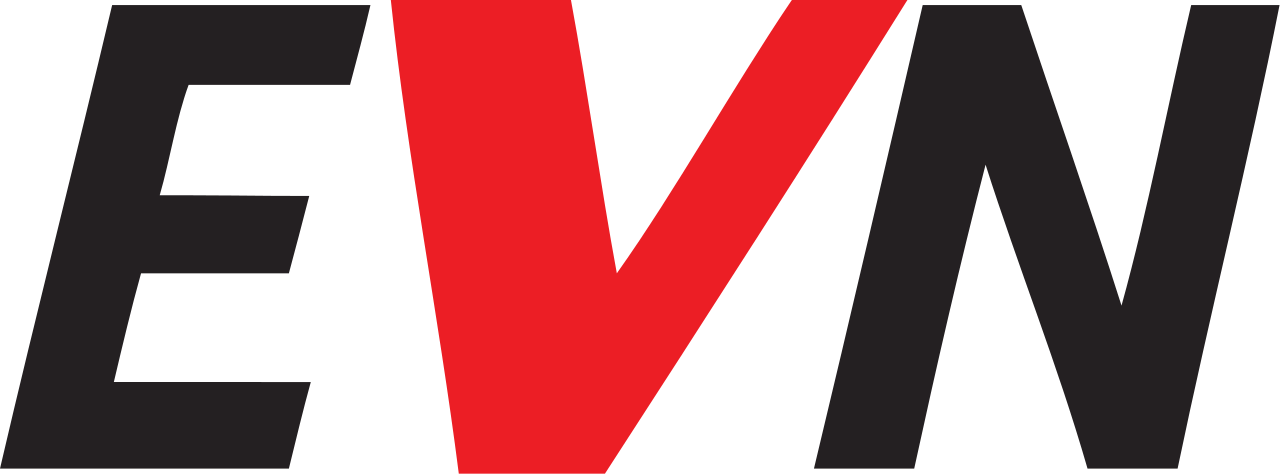 Charge card logo of EVN