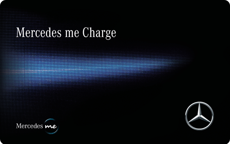 Charge card logo of Mercedes Me Charge