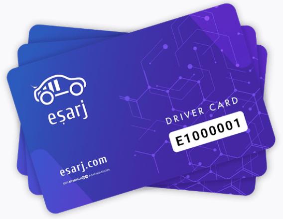 Charge card logo of Eşarj