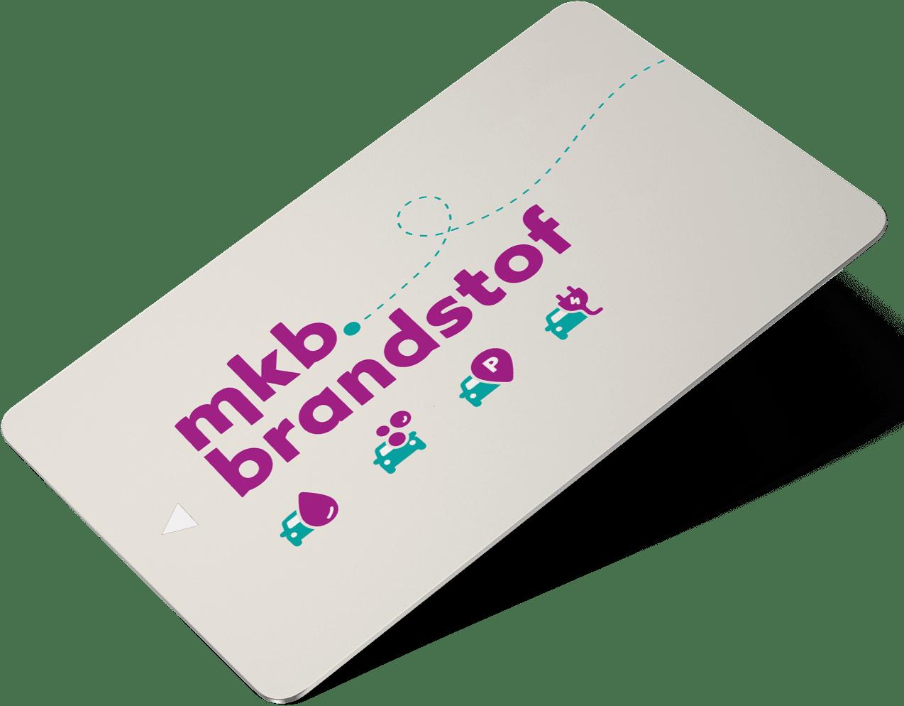 Charge card logo of MKB Brandstof