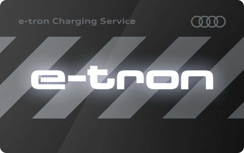 Charge card logo of Audi Charging Service