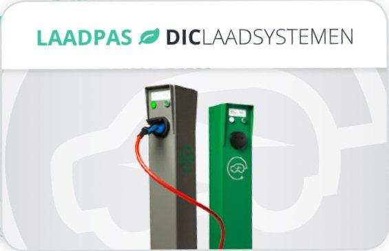 Charge card logo of DIC Laadsystemen