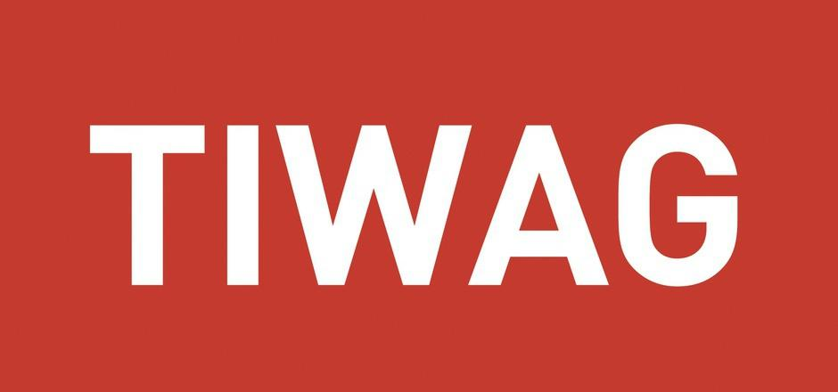Charge card logo of TIWAG