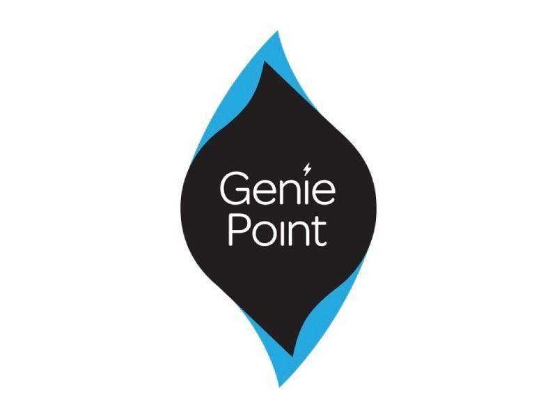 Charge card logo of GeniePoint