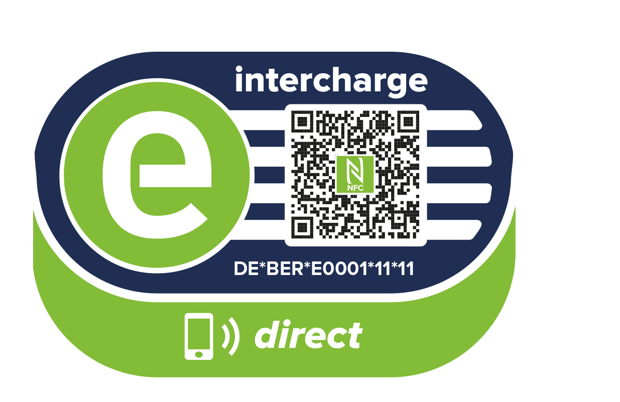 Charge card logo of Intercharge Direct (Hubject)