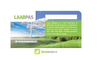 Charge card logo of Oplaadpunten.nl