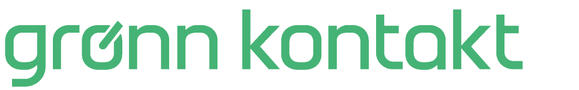 Charge card logo of Gronn Kontakt