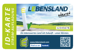 Charge card logo of Lebensland