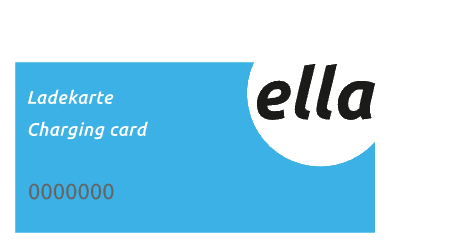 Charge card logo of Ella