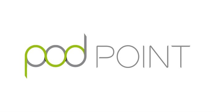 Charge card logo of PodPoint